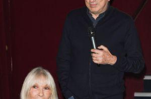 Michel Drucker, sa femme Dany Saval et Stéfanie : Soirée