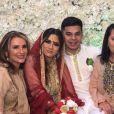 Trisha Malik a partagé des photos du mariage de sa fille Safaa, sur Instagram, le 17 septembre 2019.