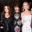 Stefano Gabbana, Carla Bruni, Helena Christensen, Eva Herzigova et Domenico Dolce à Milan. Septembre 2018.