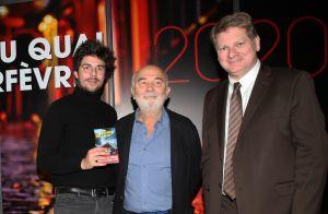Alexandre Galien lauréat du prix du Quai des Orfèvres devant Gérard Jugnot