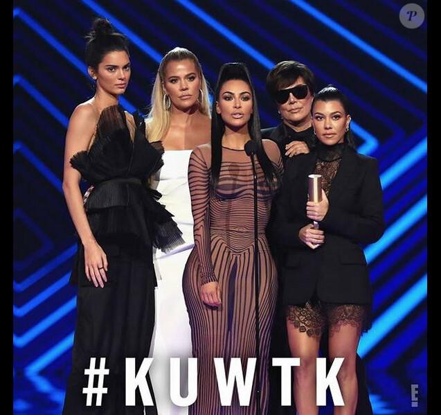 Les Kardashian aux People's Choice Awards. Novembre 2018.