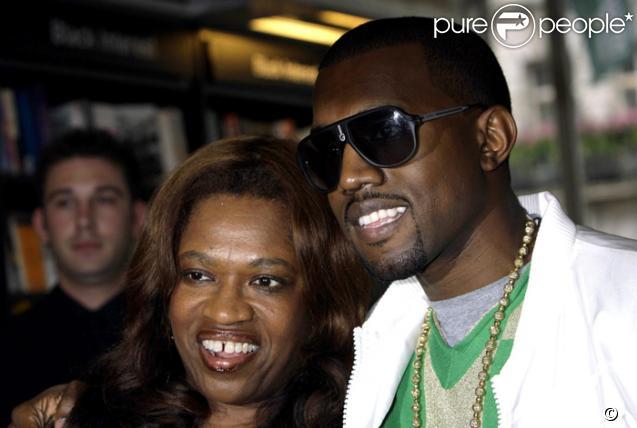 Kanye West et Donda sa mère