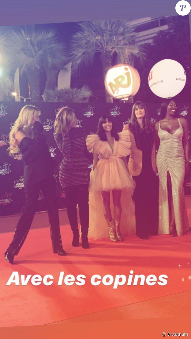Jenifer à la 21ème cérémonie des NRJ Music Awards le 9 novembre 2019 à Cannes.