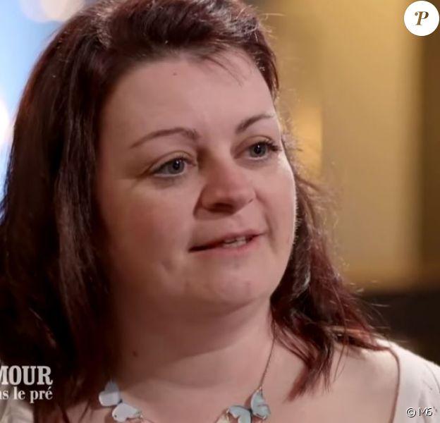 Maud et Laurent, dans l'émission L'amour est dans le pré (14ème saison), septembre 2019.