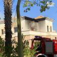 """""""Les Marseillais VS Le reste du monde"""", des images de l'incendie qui a ravagé la villa dévoilées dans l'épisode du 5 novembre 2019, sur W9"""
