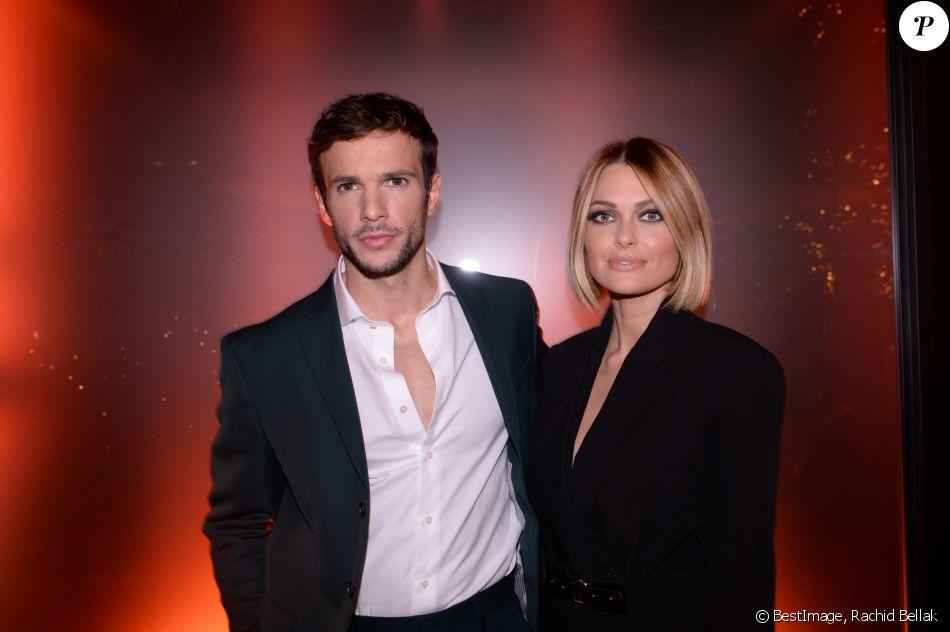 Caroline Receveur et son chéri Hugo Philip à la soirée de lancement du nouveau parfum Boss à Paris - 13 novembre 2019