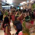 Sylvie Tellier en voyage à Tahiti avec les Miss - Instagram, 17 novembre 2019