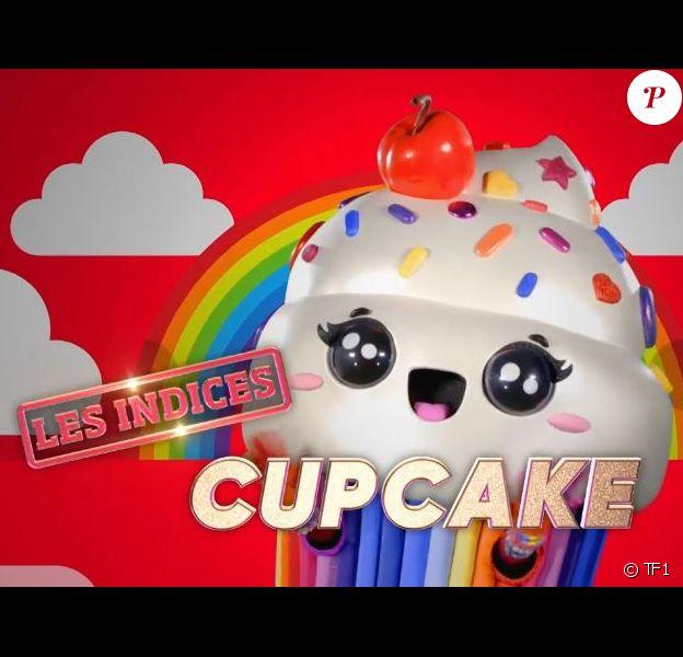 """Portrait et performance du Cupcake, personnage de """"Mask Singer"""", sur TF1."""