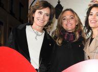 Sandrine Quétier et Inès de la Fressange réunies pour un beau moment de féerie