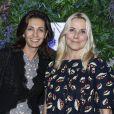 Adeline Blondieau et Sophie Favier - Soirée de lancement des produits Phyto Specific de la marque Phyto à la Pause Parisienne à Paris suivie d'un showcase de G. Dourdan, le 19 novembre 2019. © Pierre Perusseau/Bestimage