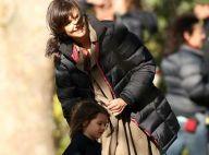 Katie Holmes et l'adorable Suri... moments de tendresse sur un tournage de brutes !