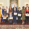 L'animateur de radio anglais Greg James invité par le prince William et Kate Middleton au palais de Kensington, le 22 octobre 2019.