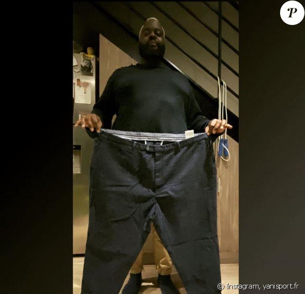 L'humoriste Issa Doumbia dévoile son impressionnante perte de poids, sur Instagram. Le 19 novembre 2019.