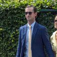 Pippa Middleton et son mari James Matthews à Wimbledon à Londres, le 12 juillet 2019.