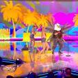 """Portrait et performance de l'Aigle, personnage de """"Mask Singer"""", sur TF1."""