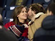 Ophélie Meunier en couple, Sandrine Quétier : Supportrices au Parc pour PSG-LOSC