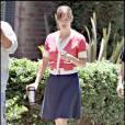 Jennifer Garner sur le tournage de Valentine'S day (Los Angeles, 22 juillet 2009)