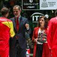 Le roi Felipe VI d'Espagne et Rafa Nadal - L'Espagne remporte la Coupe Davis à Madrid, le 24 novembre 2019, grâce à la victoire de Rafael Nadal contre Denis Shapovalov (6-3, 7-6).