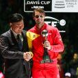 Rafa Nadal - L'Espagne remporte la Coupe Davis à Madrid, le 24 novembre 2019, grâce à la victoire de Rafael Nadal contre Denis Shapovalov (6-3, 7-6).