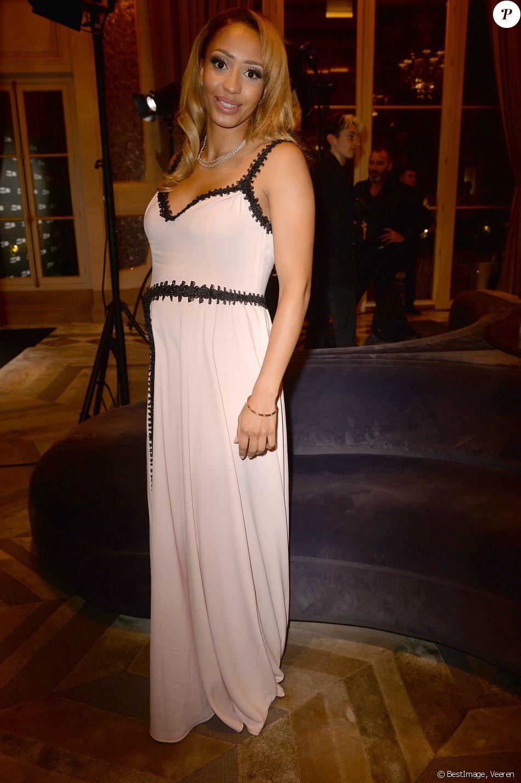 """Estelle Mossely (enceinte) - Remise des GQ Awards """"Les Femmes et les Hommes de l'année 2019"""" à l'hôtel de Crillon à Paris, le 26 novembre 2019. © Veeren/Bestimage"""