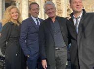 """Gad Elmaleh a rencontré le pape François avec """"Bernadette de Lourdes"""""""