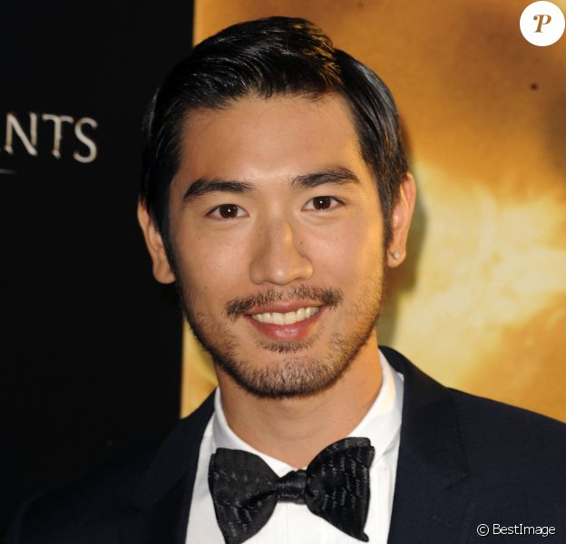 "Godfrey Gao - Premiere du film ""The Mortal Instruments: City of Bones"" a Hollywood, le 12 aout 2013."