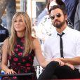 Jennifer Aniston et Justin Theroux - Jason Bateman reçoit son étoile sur le Walk of Fame à Hollywood, le 26 juillet 2017.
