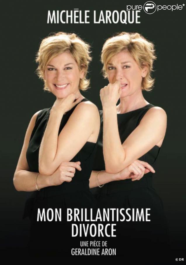 Michèle Laroque va vous raconter son brillantissime divorce...