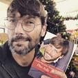 Laurent Kerusoré en séance de dédicace - Instagram 30 novembre 2019