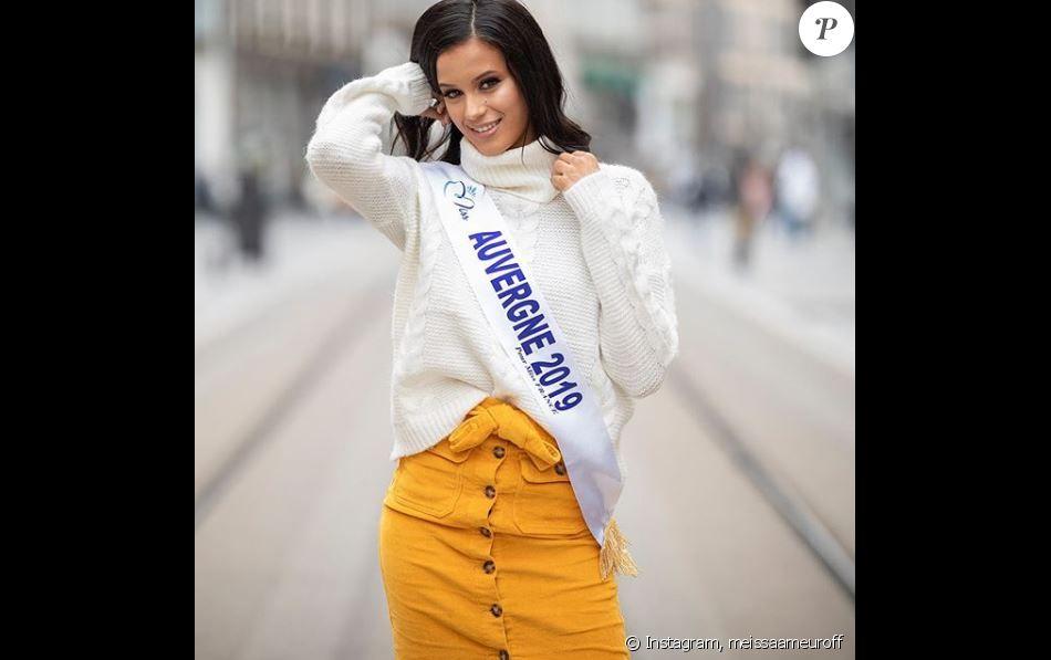Meissa Ameur, Miss Auvergne 2019,  se présentera à l'élection de Miss France 2020, le 14 décembre 2019.