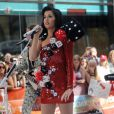Katy Perry au NBC's Today Show au Rockefeller Plaza à New York le 24 juillet.