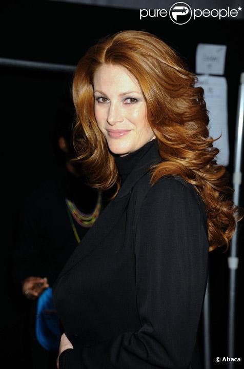 Angie Everhart en février 2009