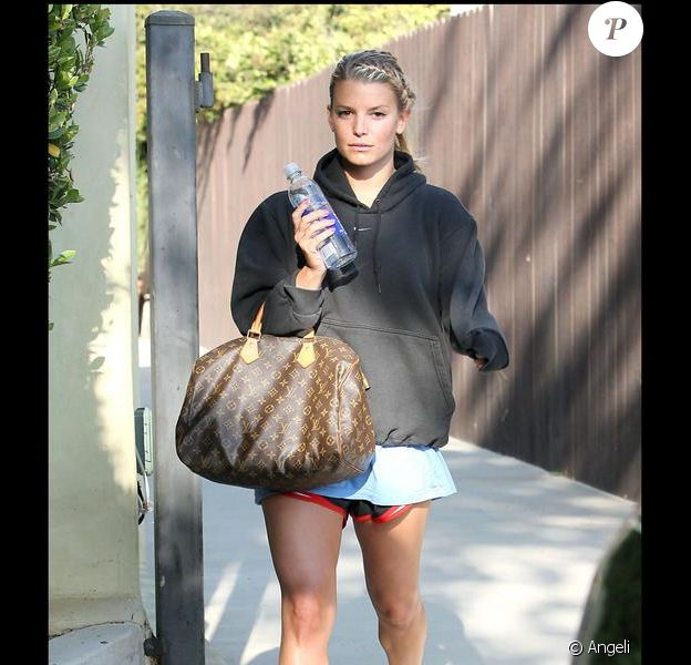 Jessica Simpson à Hollywood. Juillet 2009