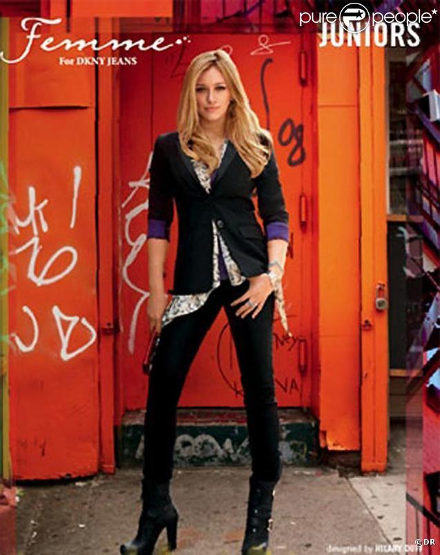 Marque de jeans Femmes déssinés par Hillary Duff