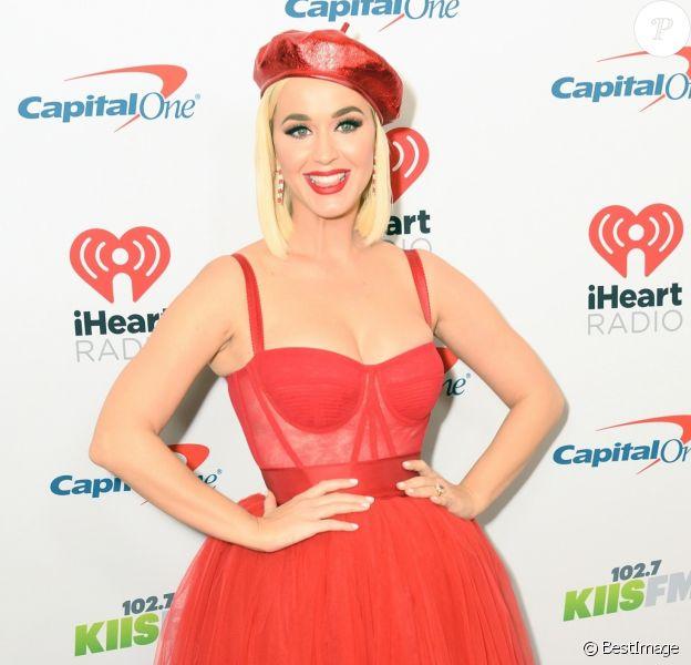 Katy Perry - Les célébrités lors de la soirée 'KIIS FM's iHeartRadio Jingle Ball 2019' au Forum à Inglewood en Californie, le 6 décembre 2019. 06/12/2019 - Inglewood