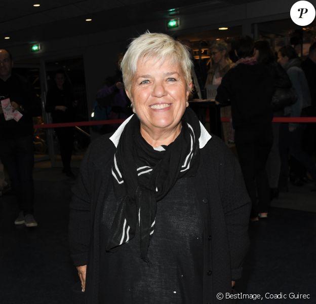 """Mimie Mathy - Générale du nouveau spectacle """"Muriel Robin et Pof !"""" au Palais des Sports à Paris le 3 octobre 2019. © Coadic Guirec/Bestimage"""
