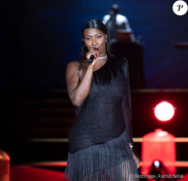 Aya Nakamura - Etam Live Show 2019 au Stade Roland Garros à Paris le 24 septembre 2019. © Rachid Bellak / Bestimage