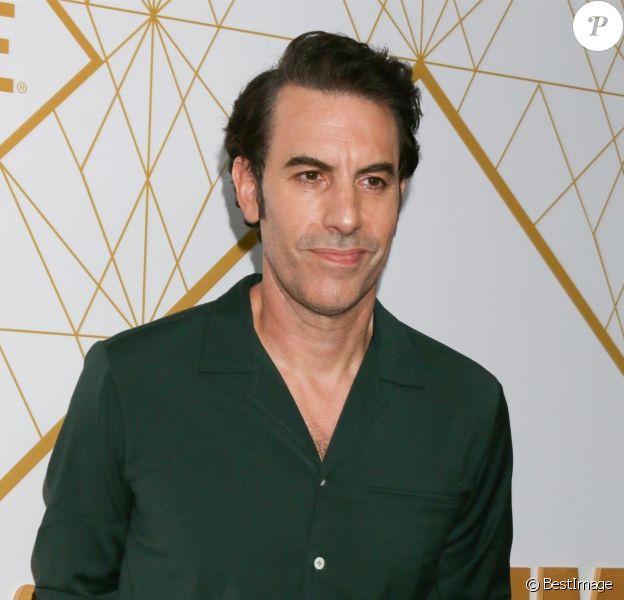 """Sacha Baron Cohen - Les célébrités assistent à la soirée """"Showtime"""" pour les nominés de la cérémonie des """"Emmy Awards"""" à Los Angeles, le 21 septembre 2019."""