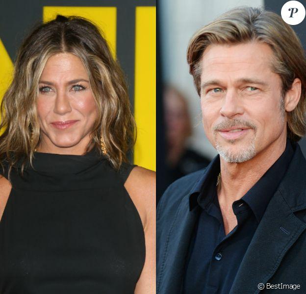 Jennifer Aniston a invité son ex-mari Brad Pitt à sa fête de Noël, le 14 décembre 2019.