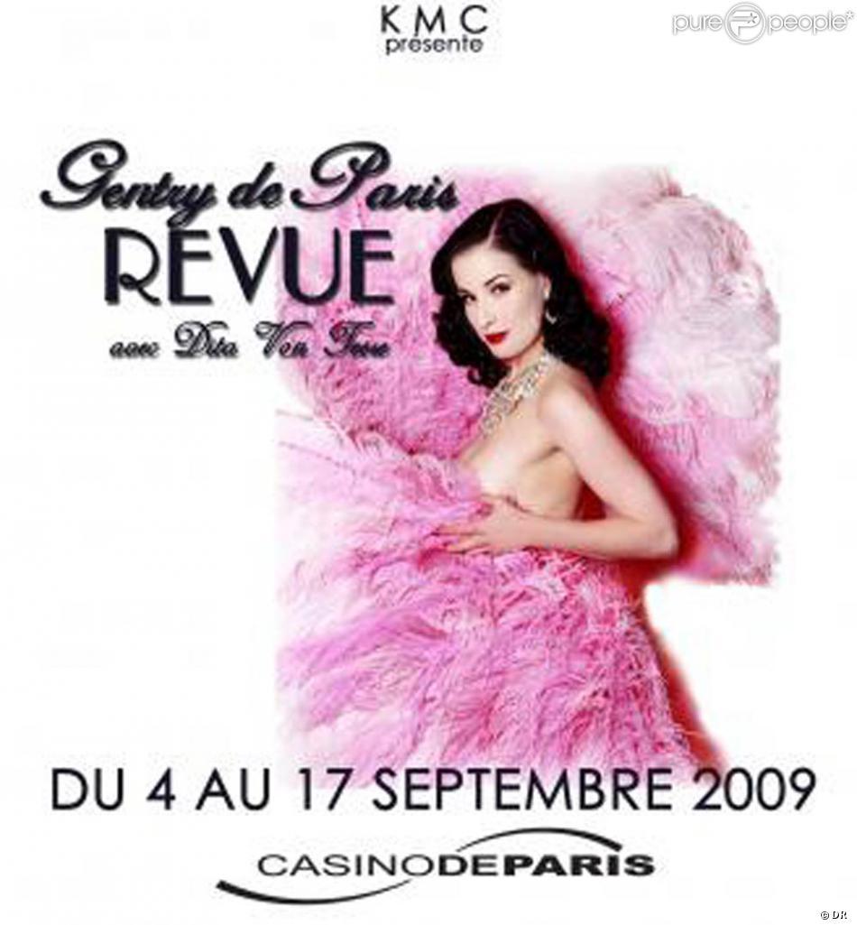 Casino De Paris Dita Von Teese