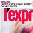 """Couverture du magazine """"L'Express"""", numéro du 18 décembre 2019."""