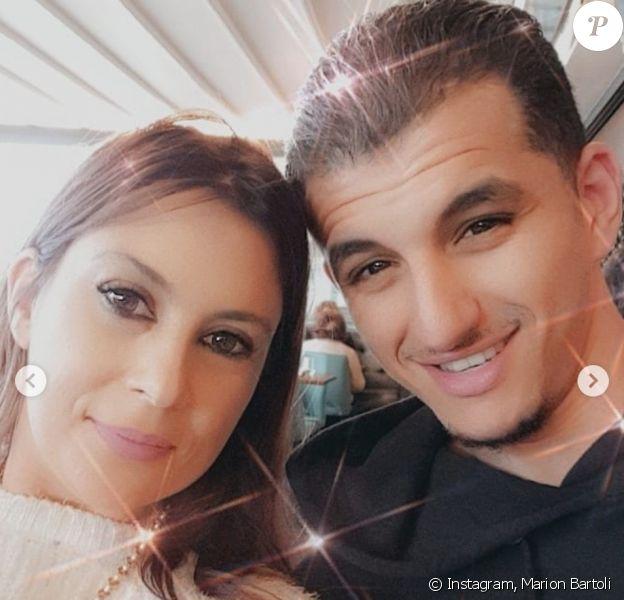 Marion Bartoli et son fiancé Yahya Boumediene. Novembre 2019.