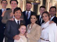 Victoria Beckham : Harper et Cruz baptisés devant Eva Longoria, fière marraine