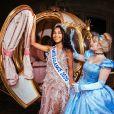 Clémence Botino réalise son premier déplacement en tant que Miss France 2020 à Disneyland Paris -    ©SIPA PRESS / Benjamin Decoin