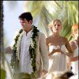 Pour les besoins du film Toi, Moi et Dupree, Kate Hudson a opté pour une robe bustier, fluide et immaculée. Cheveux au vent, elle est naturellement canon. Une robe idéale pour un mariage au bord de la mer !
