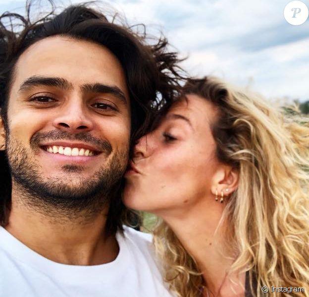 Candice Boisson et Jérémy, qui se sont rencontrés dans l'émission Koh-Lanta, photo Instagram publiée en juillet 2018.