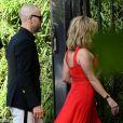 Reese Witherspoon - Les célébrités arrivent à la réception du mariage de Zoe Kravitz et Karl Glusman dans la maison de Lenny Kravitz à Paris, France, le 29 juin 2019.