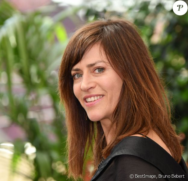 """Anne Caillon durant un photocall pour la série """"Demain nous appartient"""" dans le cadre du 58ème Festival de Télévision de Monte Carlo au Grimaldi Forum à Monaco le 16 juin 2018. © Bruno Bebert / Bestimage"""