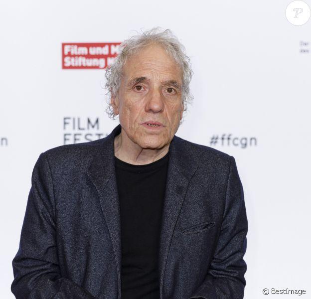 """Abel Ferrara assiste en famille, avec sa femme et sa fille, à la projection de """"Tommaso"""" au festival du film de Cologne, le 15 octobre 2019."""
