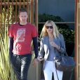 Gwyneth Paltrow et Chris Martin à Los Angeles, le 10 novembre 2012.
